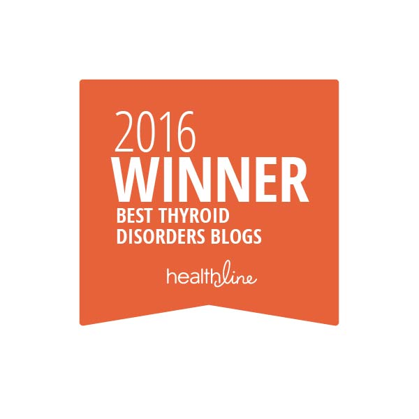 Stop the Thyroid Madness was one of the 2016 Winner Blogs