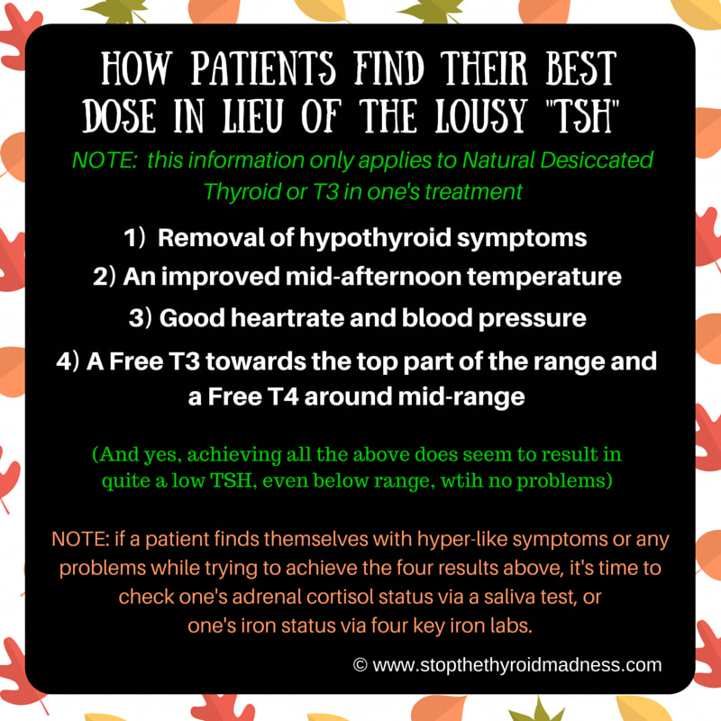 The TSH lab test - Why It's Useless - Stop The Thyroid Madness