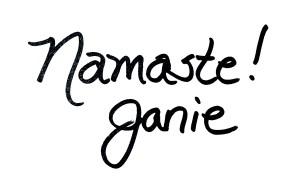 Namaste Janie