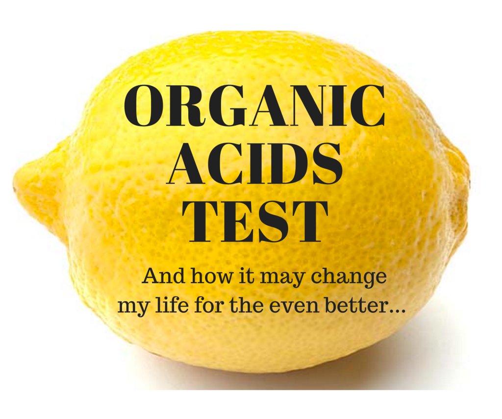Organic Acids Test graphic lemon