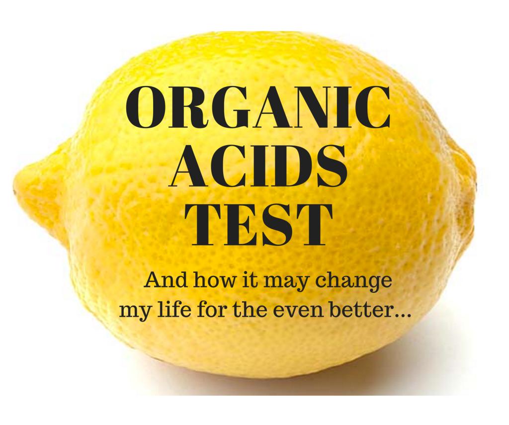 Organic Acids Test graphic lemon