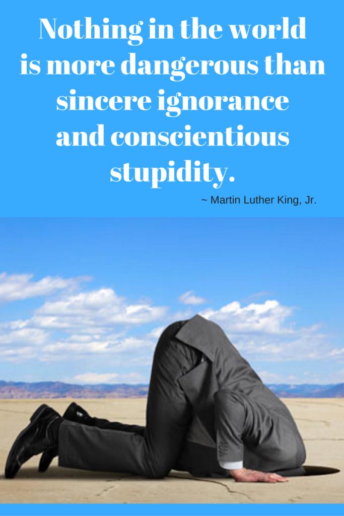 STTM ignorance graphic