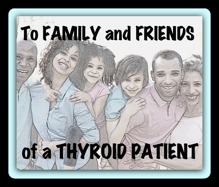 What thyroid patients would love for you to understand...