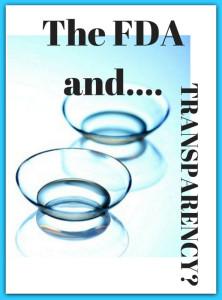 The FDA....