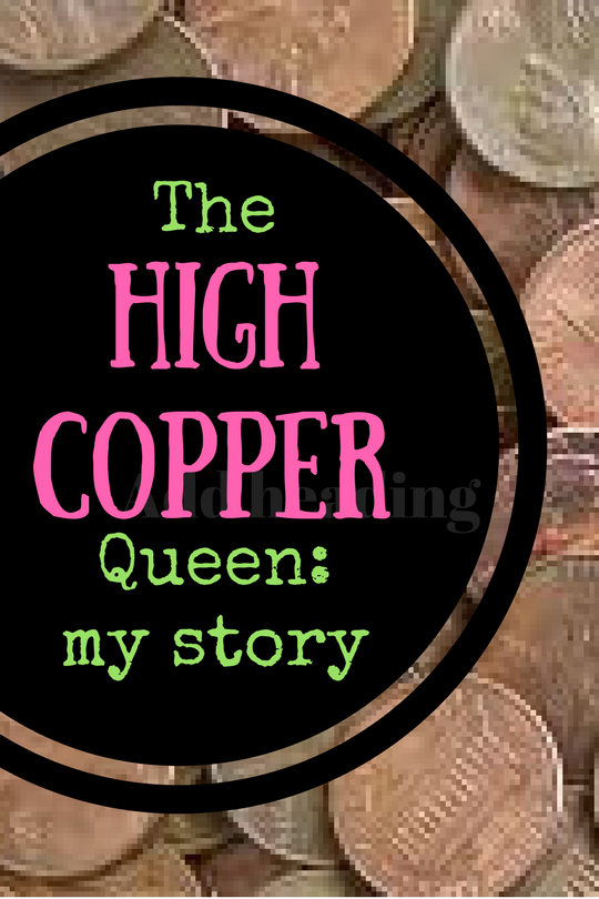 High Copper is not for the faint of heart  This is Janie Bowthorpe's