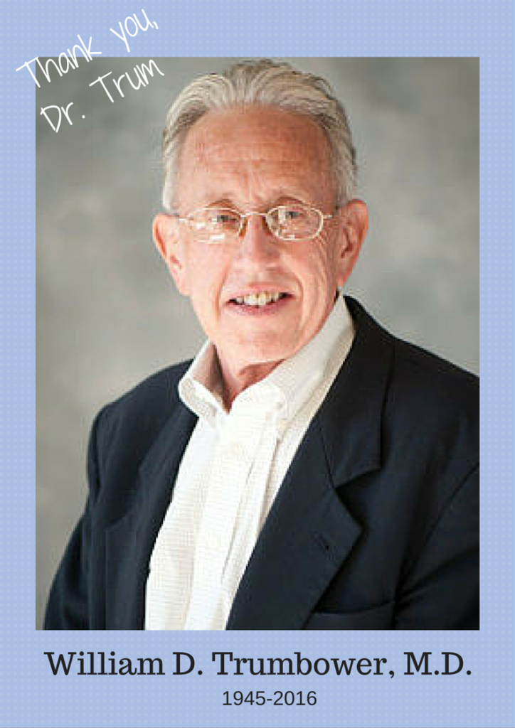 William D. Trumbower, M.D.
