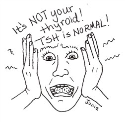 TSH is normal!